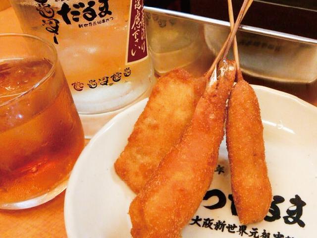 新世界元祖串かつ だるま 姫路魚町店